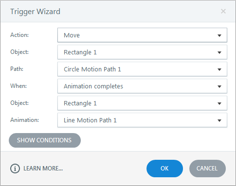 Examples of Motion Path Animations in Storyline 2