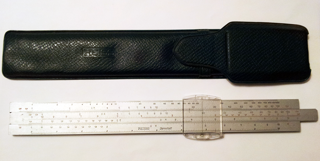 Blast from the past - my slide rule